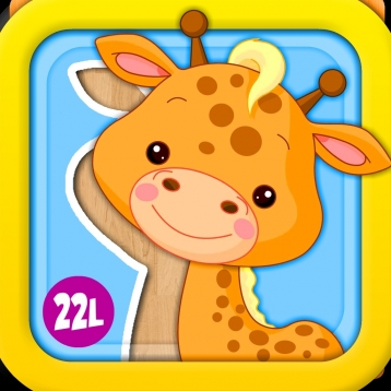 Abby Monkey®: Animated Puzzle Game with Animals and Vehicles for Toddlers and Preschool Explorers