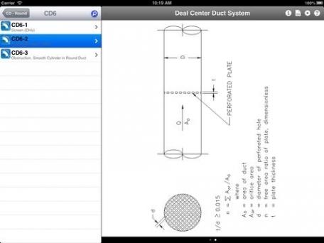 HVAC ASHRAE Duct Fitting Database