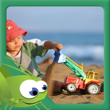 I Like Trucks - Picture Book for Kids