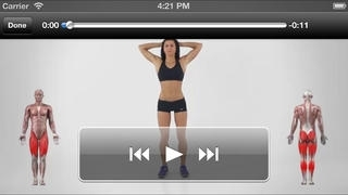 200 Exercises - Bodyweight Fitness, Abs Workout for Six Pack, Push Ups for Chest, Squats for Butt and Stretching for Full Body
