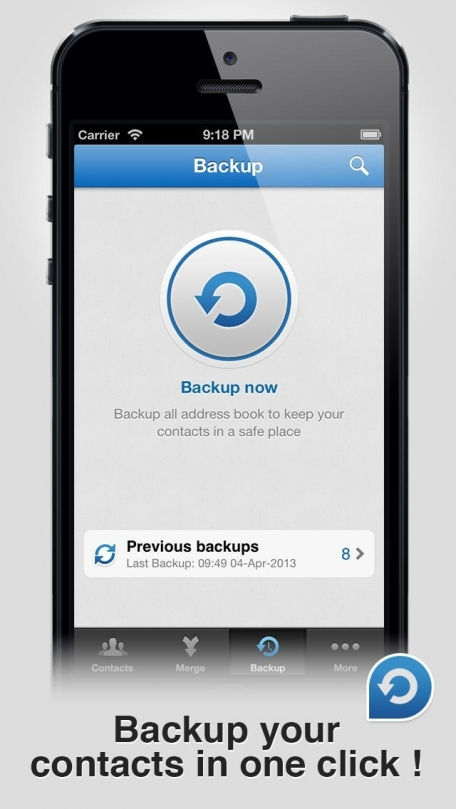 Contacts Merge - Remove Duplicate Contacts + Easy Backup for Facebook, Linkedin, Gmail, Yahoo, Outlook & Addressbook