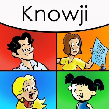 Knowji Vocab Lite Audio Visual Vocabulary Flashcards: A learning, memorization and pronunciation system with spaced repetition, ages 8 to 99, and SAT, ACT, PSAT, TOEFL, and GRE exam takers. FREE.