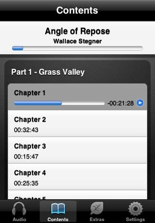 Angle of Repose (by Wallace Stegner) (UNABRIDGED AUDIOBOOK) : Blackstone Audio Apps : Folium Edition