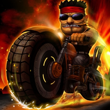 Turbo Moto Warrior Racing: free & fun real physics fast csr bike rivals vs driving race game classic 2