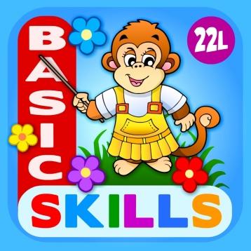 Abby Monkey® Basic Skills: Preschool and Kindergarten Educational Learning Adventure Games for Toddler Explorers