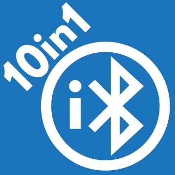 iBluetooth 10in1 (Files, Photos, Videos, Contacts, Chat, Voice, Sketch, Farts, Tennis, Bingo)