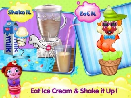 Ice Cream D'Lite - An Icecream Maker Crazy Chef Adventure