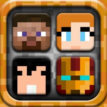Icon Shelves Minecraft Edition