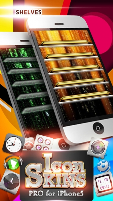 Icon Skins Pro for iPhone5