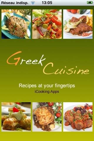 iCooking Greek Cuisine