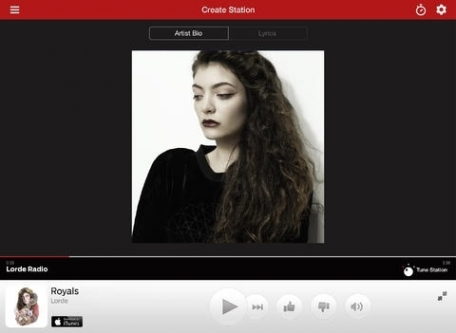 iHeartRadio for iPad - Free Music & Internet Radio Stations