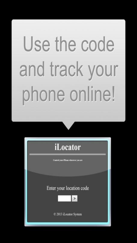 iLocator - Find And Locate Your Lost Phone