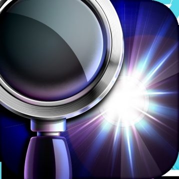 iMagnifier+ - Magnifying Glass Flashlight For iPhone