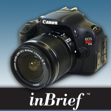 inBrief for the Canon T3i