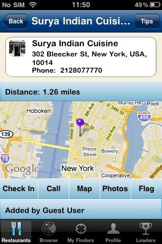 Indian Restaurant Finder : World Edition Powered by Open Finders
