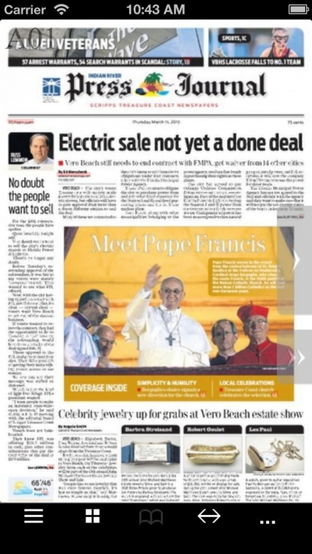 Indian River Press Journal electronic newspaper