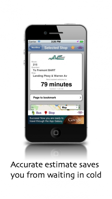 iNextBus - realtime bus tracker