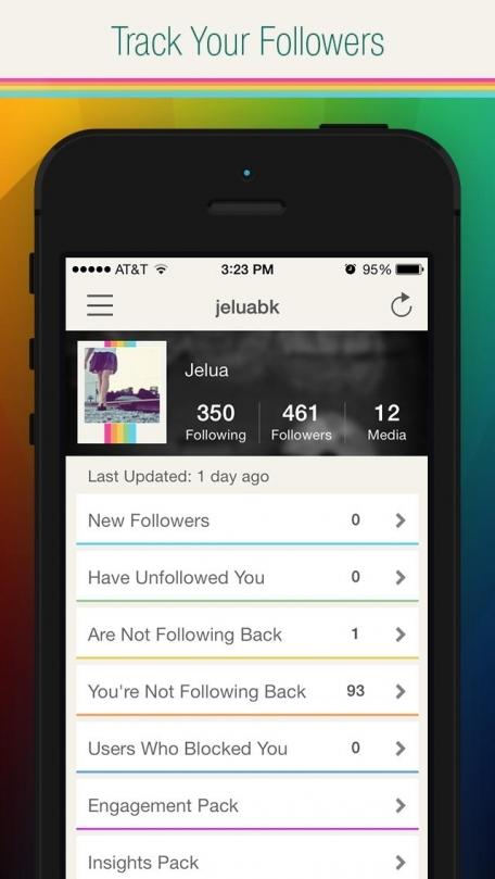 InstaFollow For Instagram - Followers and Unfollowers Tracker