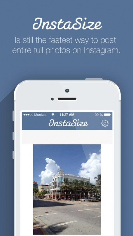 InstaSize - Post Entire Photos On Instagram Without Cropping