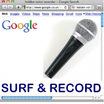 Internet Browser and Audio Recorder ( Hidden Voice Record )