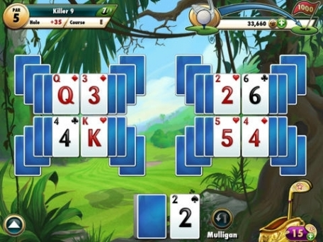 Fairway solitaire hd by big fish games app review ios for Fairway solitaire big fish games