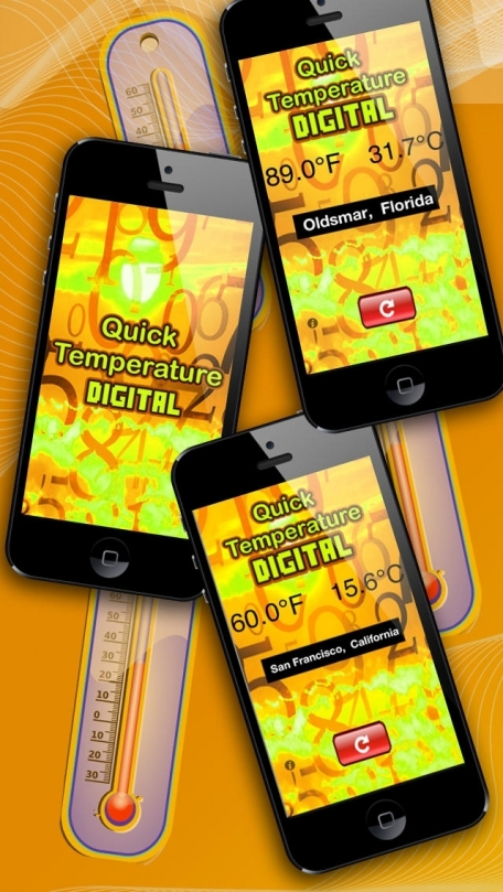 iQuick Temperature - Free Digital Thermometer