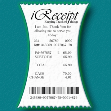 iReceipt - Expense Report