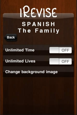 iRevise Spanish: The Family