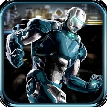 Iron Runner - Robot Man Running Game