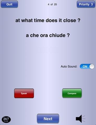 Italian Phrases 24/7 Language Learning