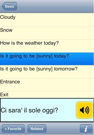 Italy2Go Talking Phrase Book