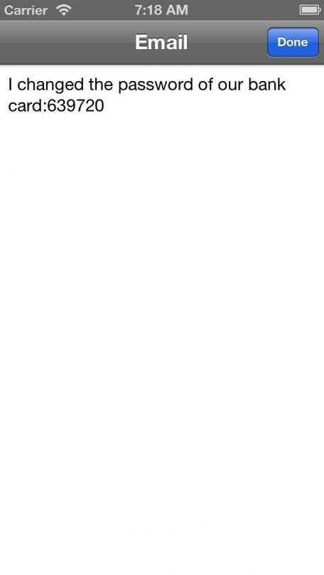 iTapCrypter(Encrypt&Decrypt Email,SMS,IM)