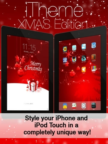 iTheme - Xmas Edition - Themes for iPhone, iPad and iPod Touch
