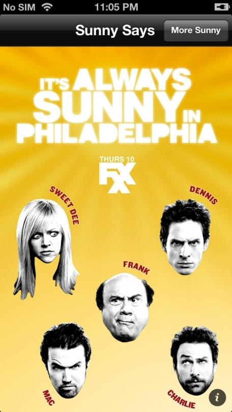 It's Always Sunny in Philadelphia Soundboard