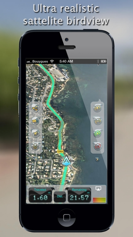 iWay GPS Navigation - Turn by turn voice guidance with offline mode