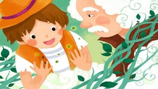 Jack and the Beanstalk - bedtime fairy tale Interactive Books iBigToy