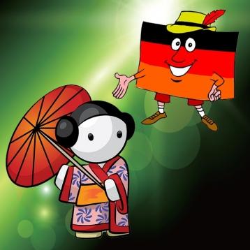 Japanisch - Talking German to Japanese Phrase Book