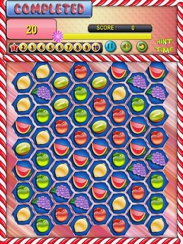 Jelly Fruit Mania Match