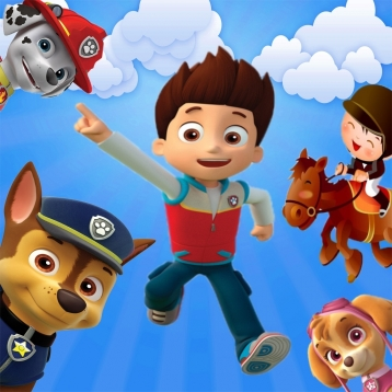 Jigsaw Puzzle for Paw Patrol