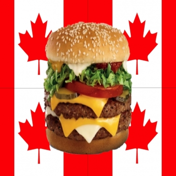 Canadian Fast Food Nutrition Calories , Points for Weight Loss and Calorie Watchers CA Mobile App
