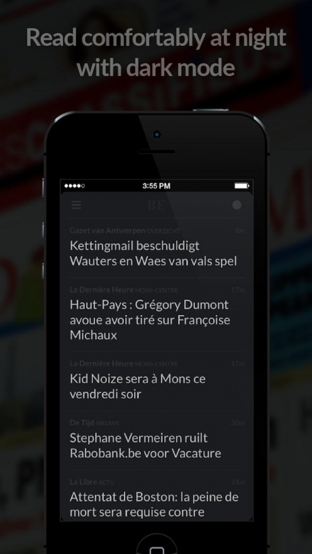 Journaux BE - Grands Journaux de Belgique (Belgischen Zeitungen)