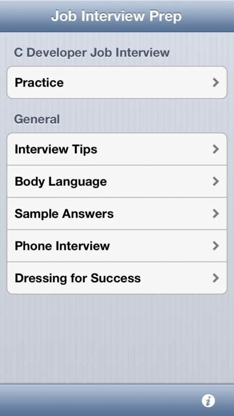 C Developer Job Interview Prep