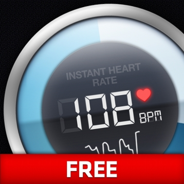 Instant Heart Rate - Heart Rate Monitor by Azumio Free