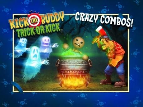 Kick the Buddy: Trick or Kick