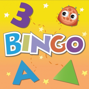 Kindergarten BINGO: Letters, Numbers, Shapes, & Colors