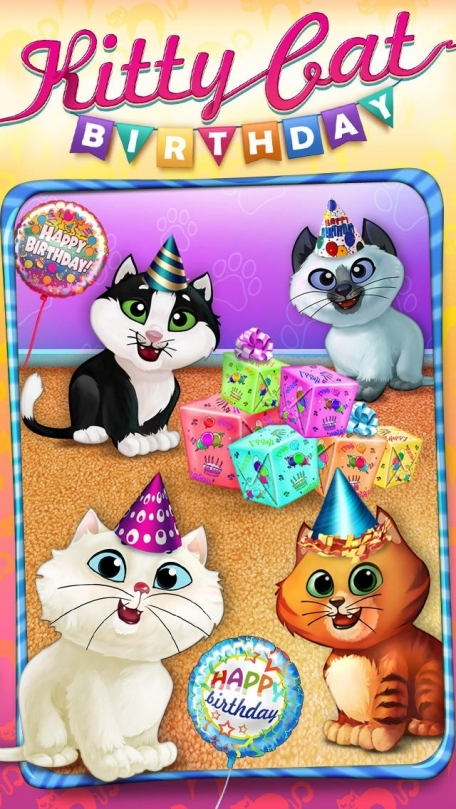 Kitty Cat Birthday Surprise: Care, Dress Up & Play!