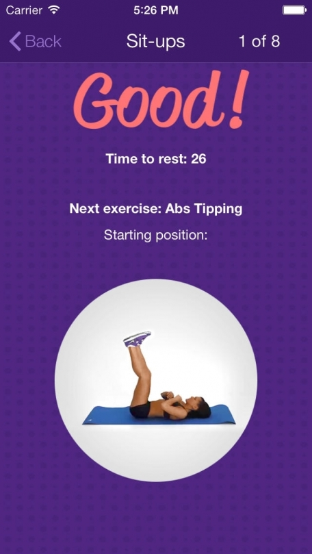 Amazing Abs – Personal Fitness Trainer App – Daily Workout Video Training Program for Flat Belly and Calorie Burn