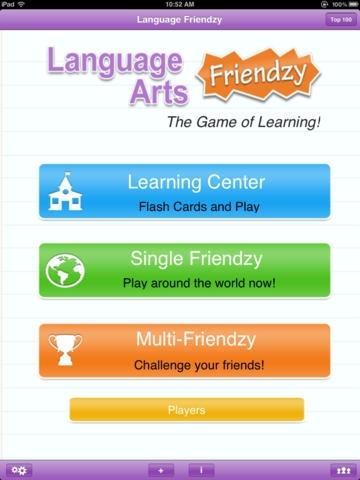 Language Arts Friendzy