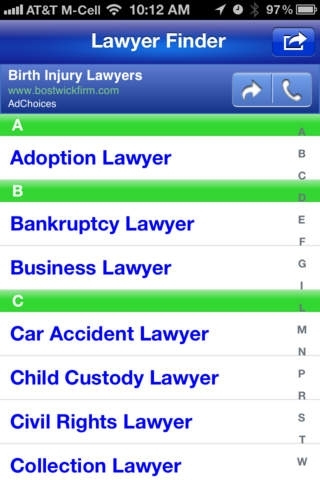 Lawyer Finder