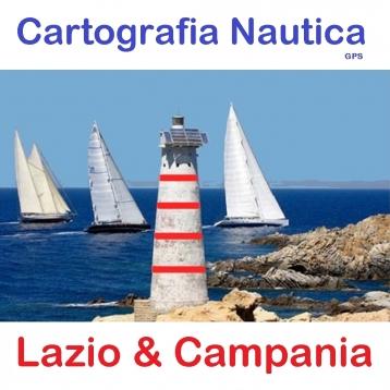 Lazio & Campania - Nautical Chart